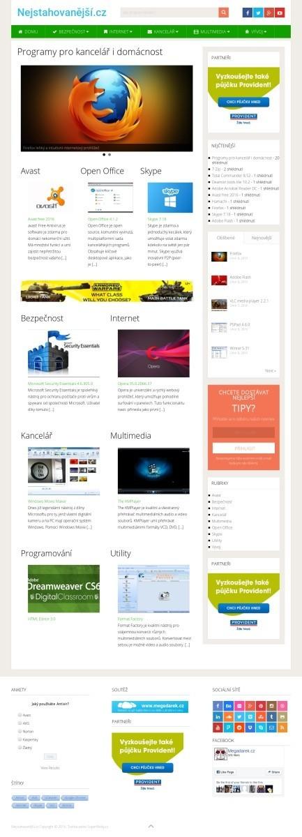 nejstahovanejsi.cz web na prodej na www.superweby.cz